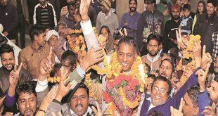 Rajesh Kalia new Chandigarh Mayor
