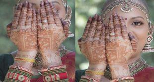 Cancer survivor Bold Indian Bride