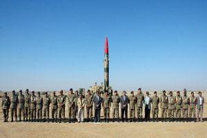 Pakistan test ghaznavi missile