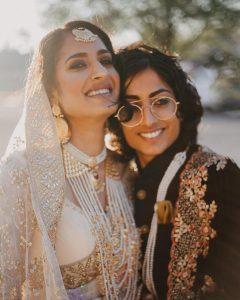 Indo-Pak Lesbian Couple marriage