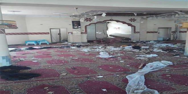 Balochistan mosque blast