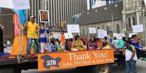 Indo-Canadian celebrates Independence Day