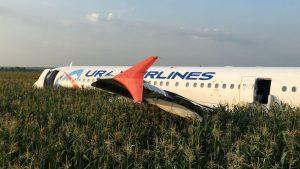 Russian Plane Crash-Land