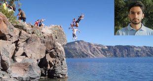 Crater Lake drowning