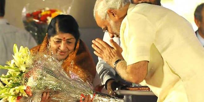 Lata Mangeshkar to be honoured