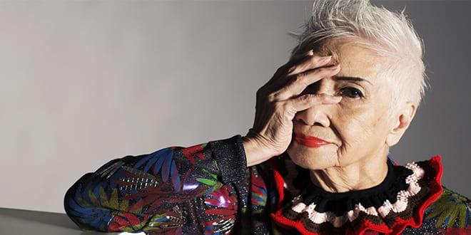93-year-old model Alice Pang