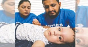 Surrey family in race against time for 11-month-old baby's treatment
