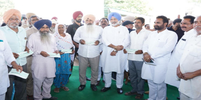 Mission laal lakir will give ownership of population to villagers: Balbir Singh Sidhu
